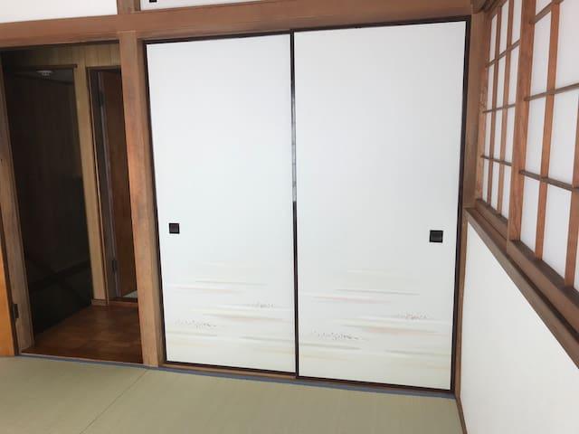 Bed Room 1 (Tatami room upstairs)