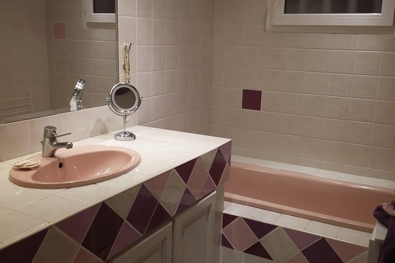 salle de bains/ wc séparés