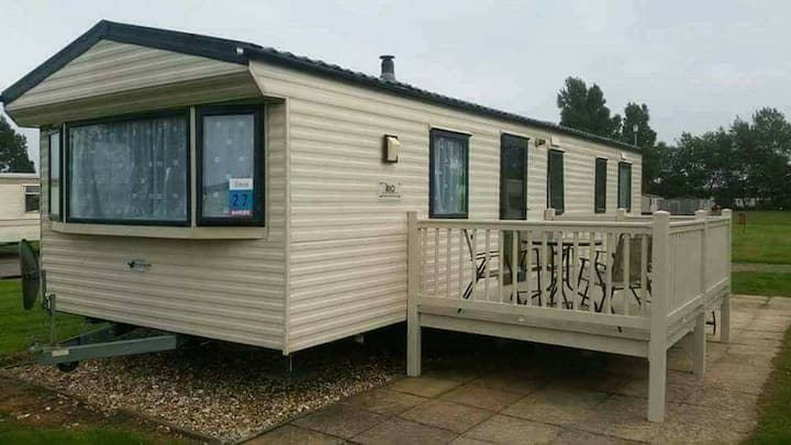 Family Gold Caravan to hire at Butlins Skegness