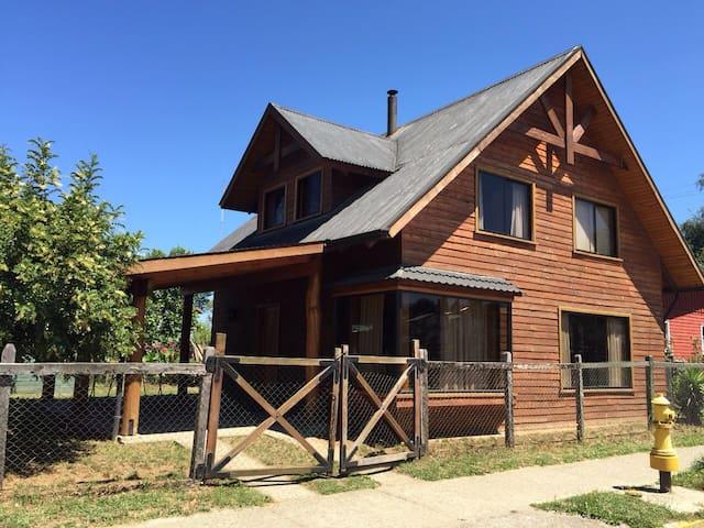Casa veraneo Lago Ranco Futrono