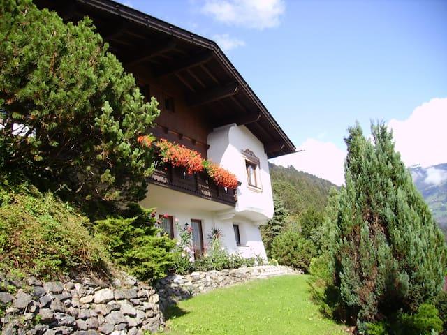 Sonniges Appartement mit wunderbarem Blick 2 -5P. - Zellberg - Condominio