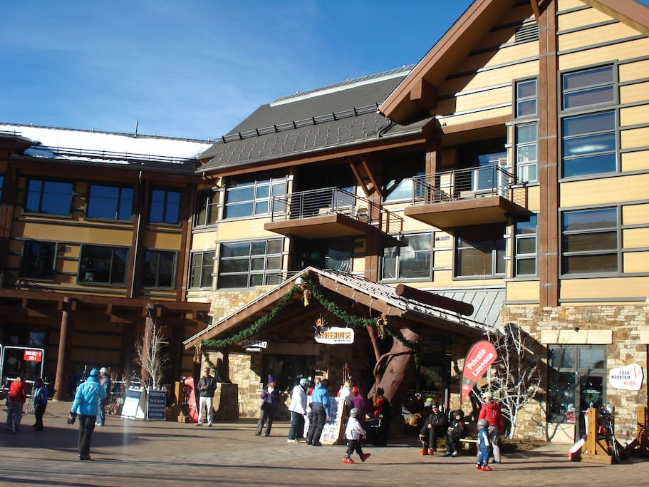 Hayden Lodge and Treehouse Ski School and Adventure Center for kids