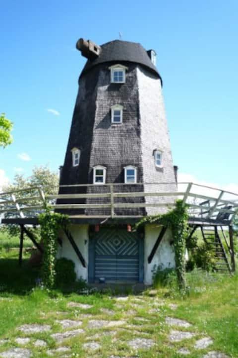 Wohne diesen Sommer in einer einzigartigen Windmühle!