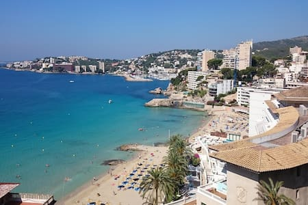 180° SEA VIEW-9' WALK TO THE BEST BEACH FROM PALMA