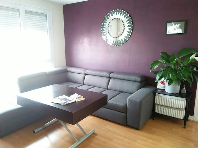 Beautiful flat in Montrouge metro 4  (sharing)