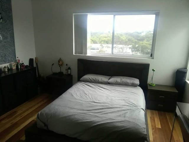 Master Bedroom in a Modern House - Sydney Views!