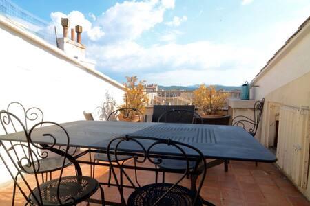 FAUCHIER-Duplex T4, Terrasse, Centre, Clim&Parking - Aix-en-Provence