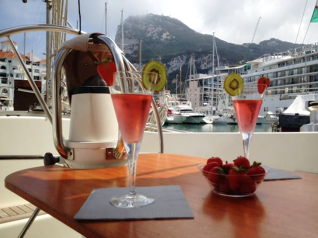 Yacht Retreat in the center of Gibraltar