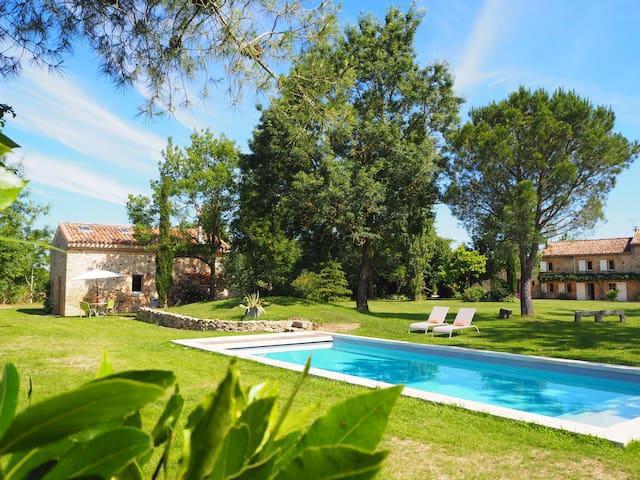 Fournil de charme au coeur du Lauragais + piscine