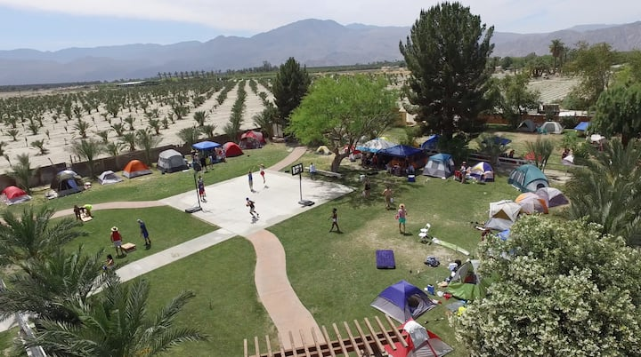 Camping and RV space for COACHELLA
