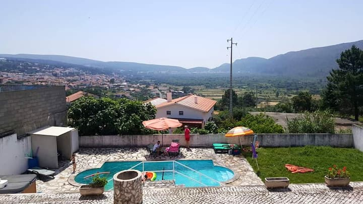 Villa with 6 bedrooms in Mira de Aire, with wonderful mountain view, private pool, enclosed garden - 35 km from the beach