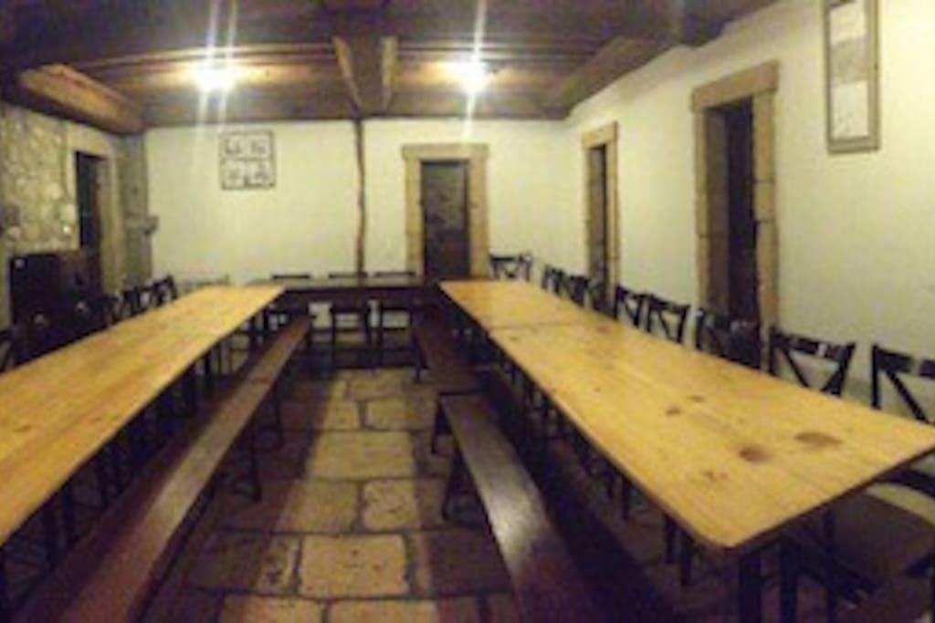 Salle de Réceptions 40 places assises