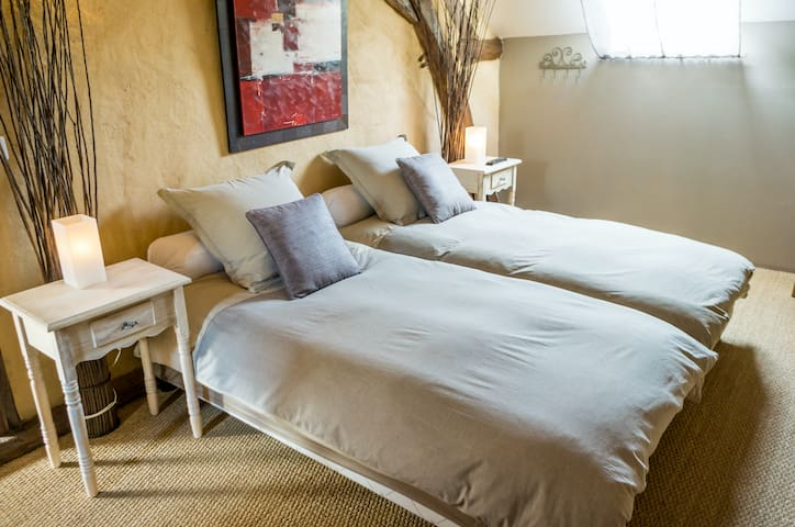 Chambre quadruple ou dortoir - Salle d'eau