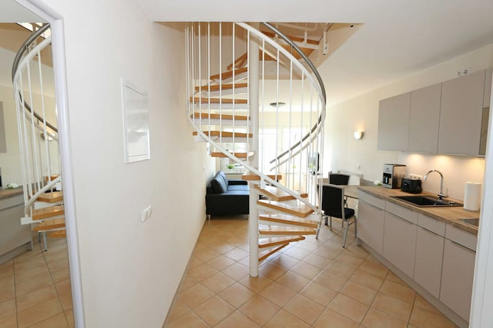 OS: Haus Seeblick, Haus Seeblick Whg 2 Maisonette mit Terrasse