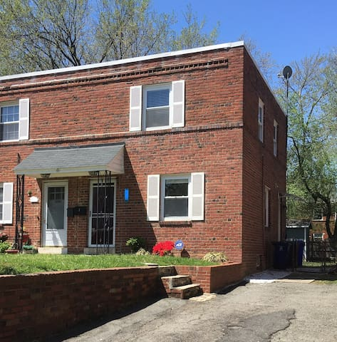 2 BR/2 BA Townhouse with Finished Basement