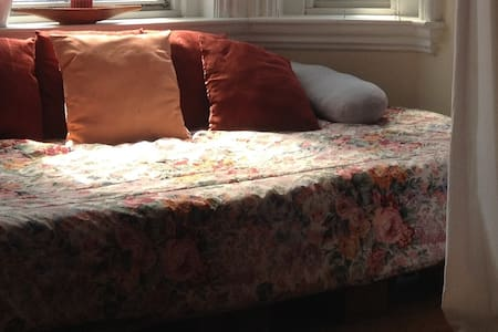 (H) cozy bed in shared living Room - Cambridge