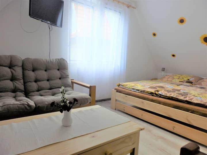 Nový apartmán se dvěma ložnicemi