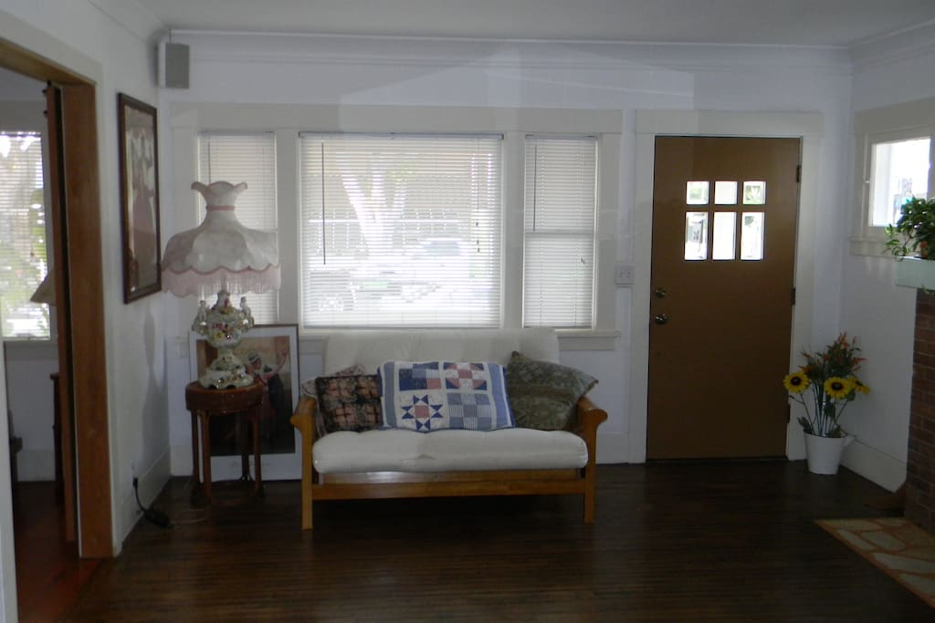 Living Area Of Cottage Home