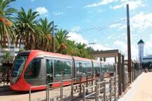 Tramway Casa voyageur Belvedere /Casablanca