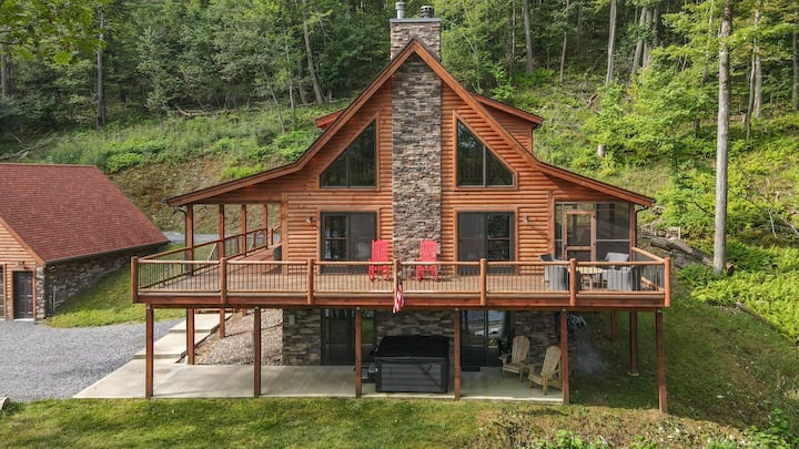 NEW! Lake Area Home w/ wood fireplace & A/C.