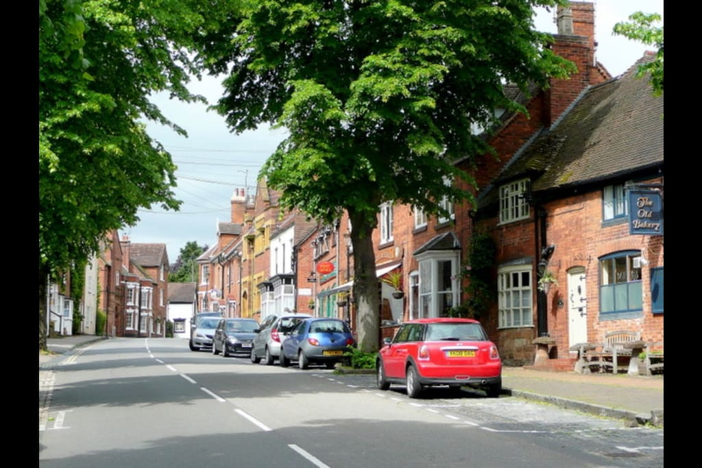 Kenilworth 'Old Town' on a warm summers afternoon.