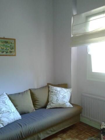 habitación en ático centrico - Madrid - Bed & Breakfast