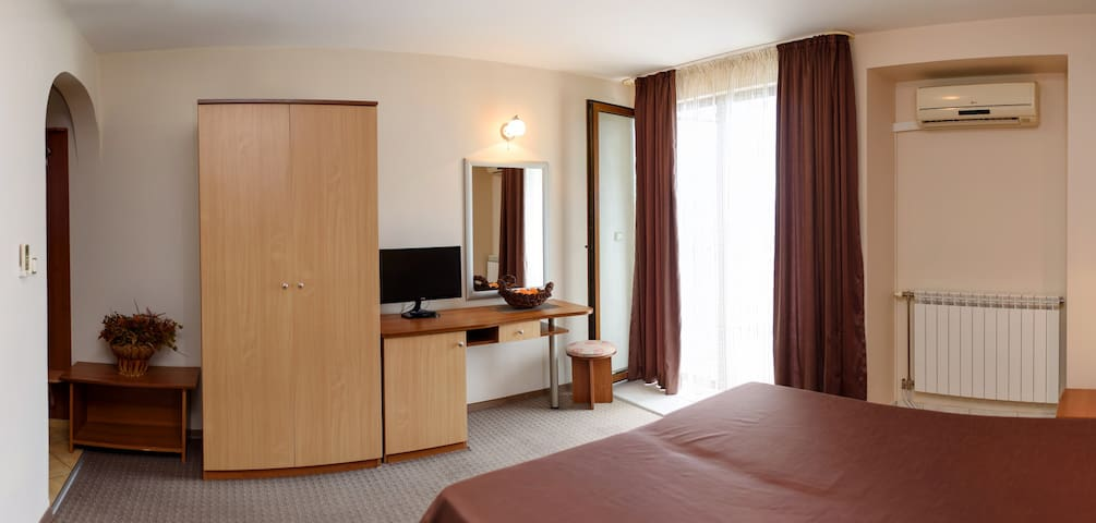 Delux Double room Sea View with Extra bed