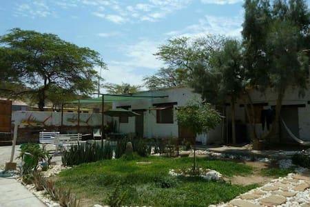 Habitacion privada en ZionEcohouse - Talara - Casa