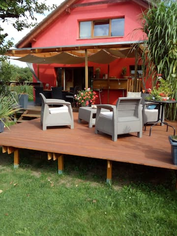 3BDRs holiday house 20 min.from Prague