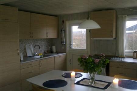 modern vacation house at beach - Otterup