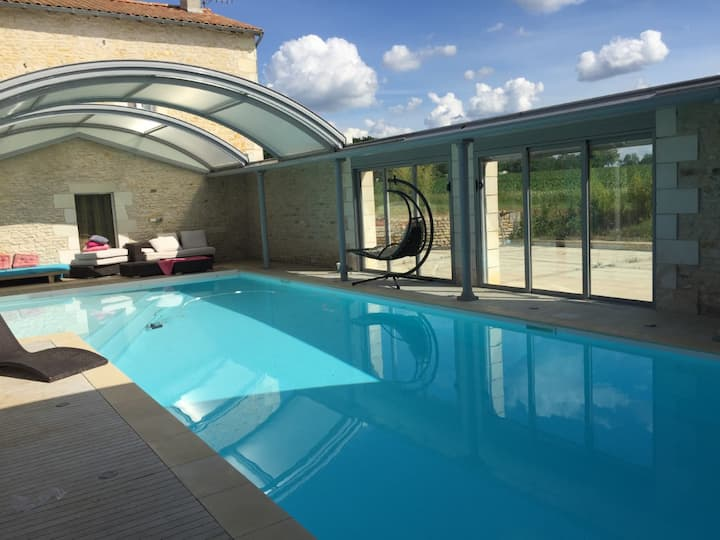 Gîte moderne, Gîte premium et piscine privative