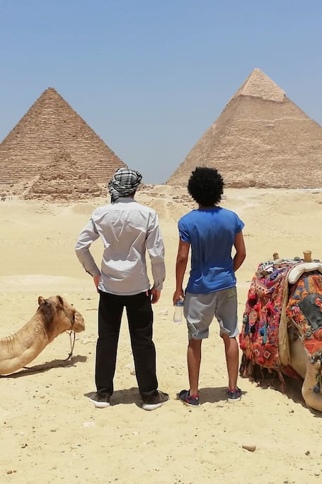 The best view At The Pyramids :)