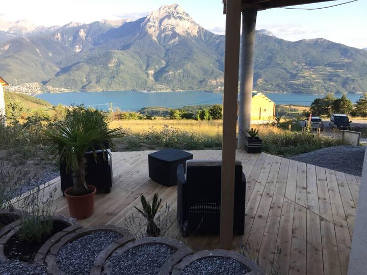 Studio dans villa vue magnifique