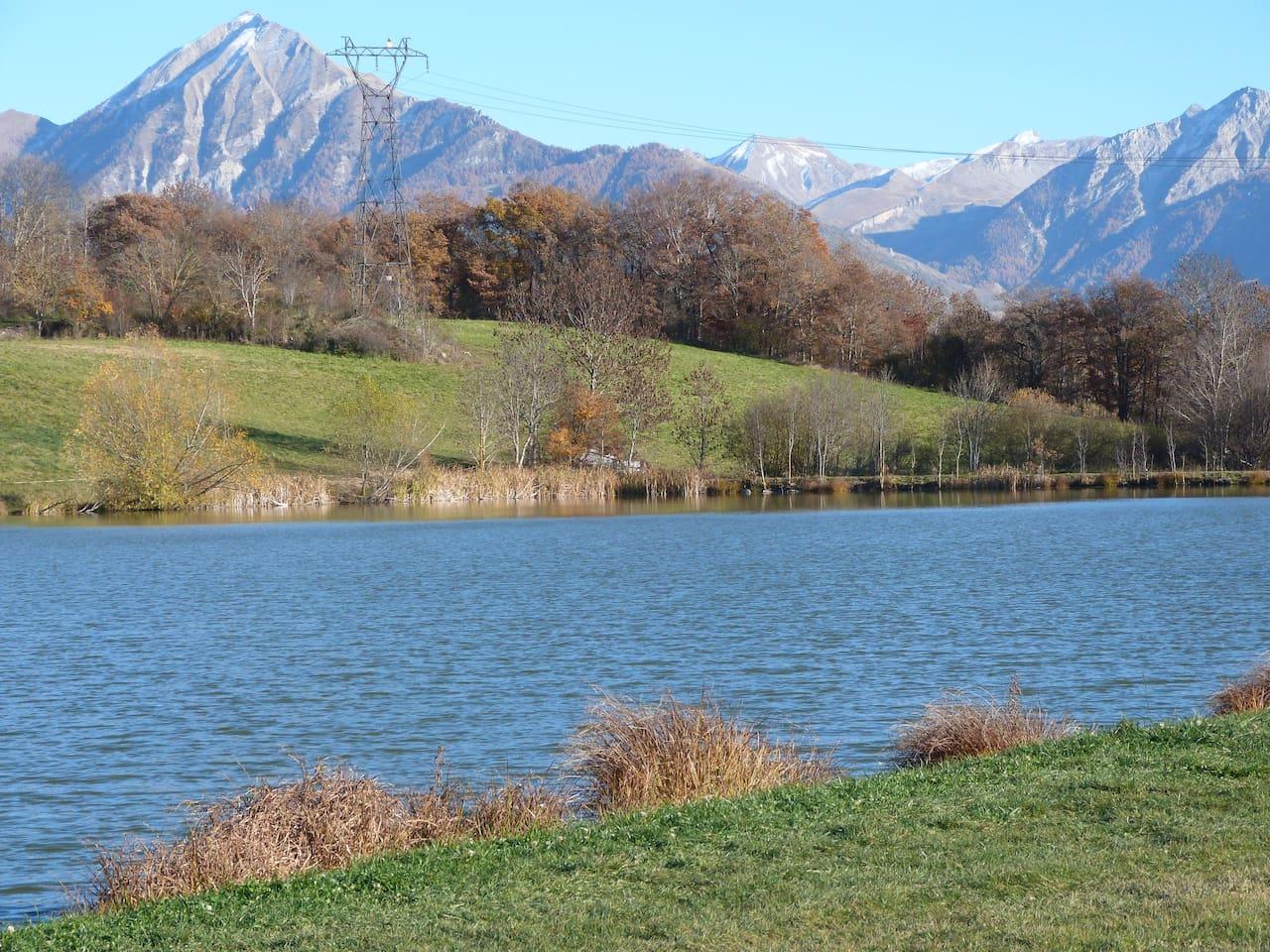 Lac de l'Aullagnier