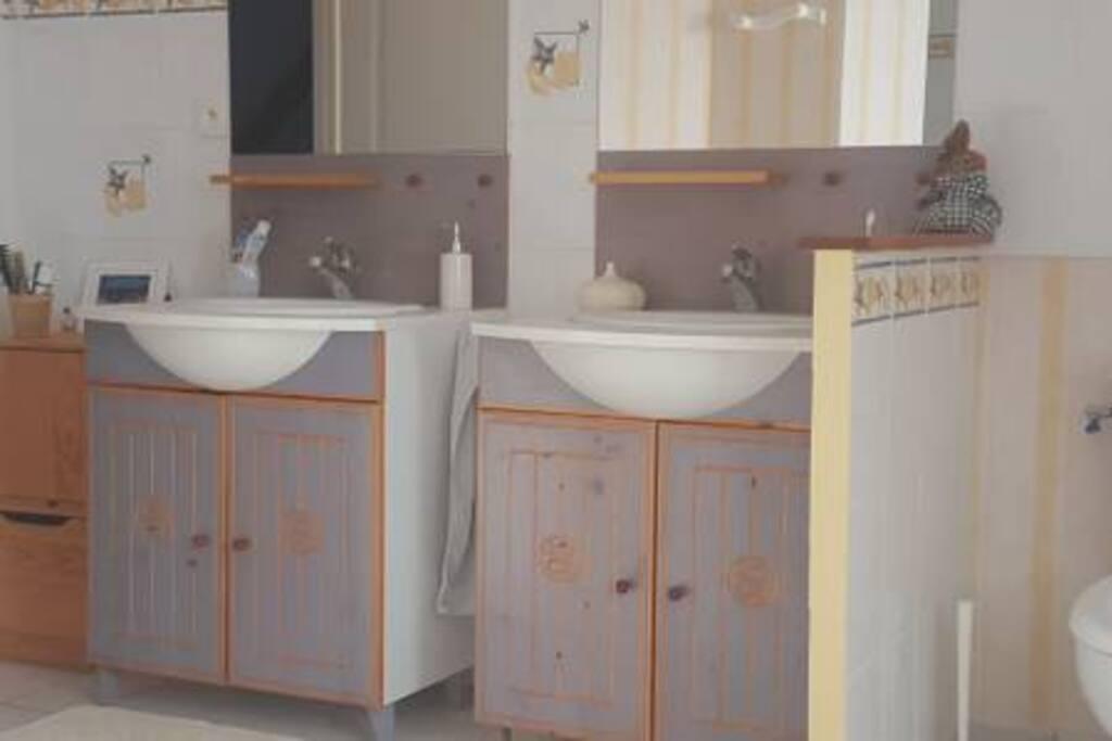 Salle de bain - double vasque