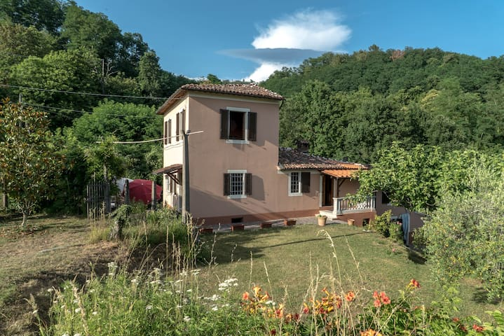Chiesetta: intimate villa in the hills of Barga