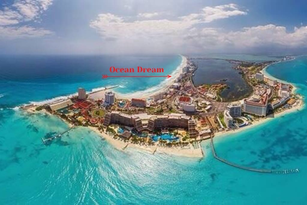 Ocean Dream Location in Hotel Zone
