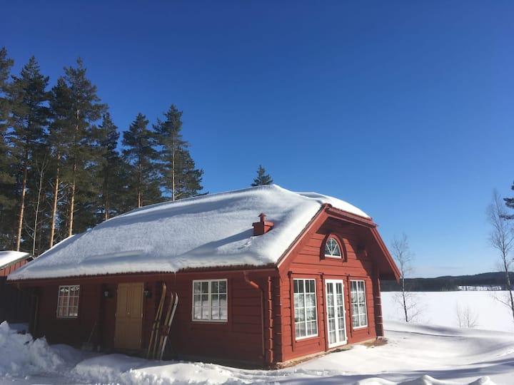Fritidshus med sjötomt och närhet till Hovfjället!