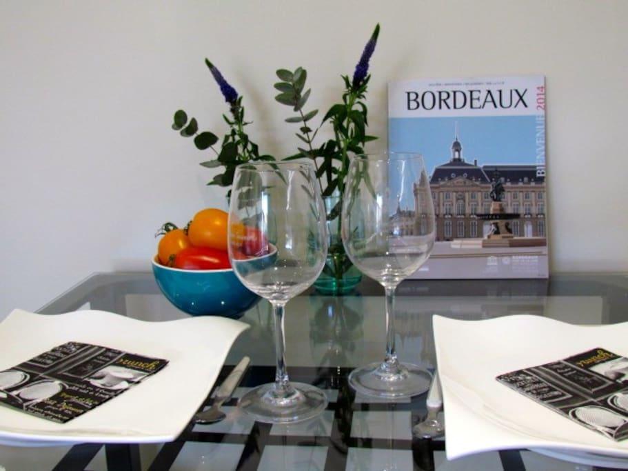 Clin d'œil à Bordeaux, classé au patrimoine mondial de l'UNESCO.