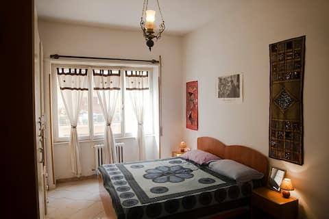 Cozy Double Room Near Tiburtina Station