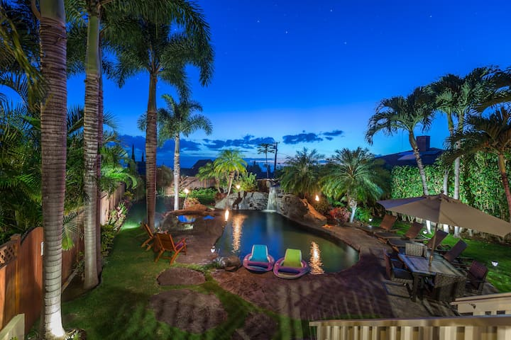 MAUI MEADOWS RETREAT B&B-3 BR-OCEAN VIEWS-AC