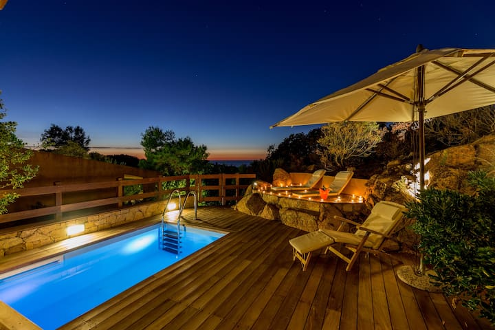 Villetta Rosa 8 with solarium and private pool