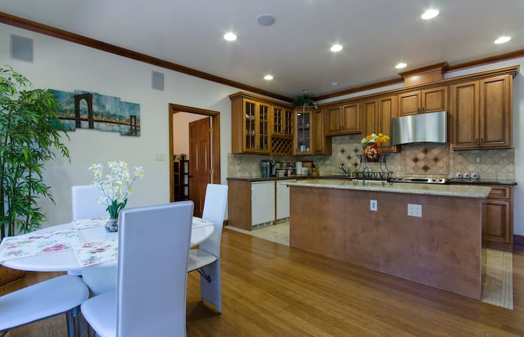 Spacious & Clean 2BR/2BA/Private Entrance - San Ramon - Casa