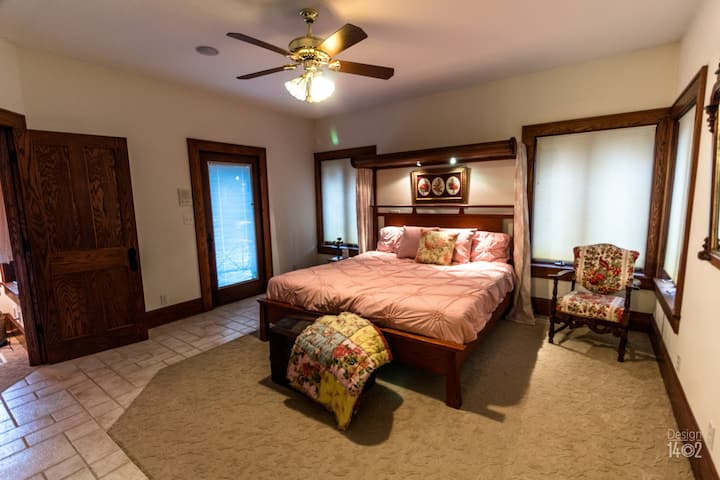 Raspberry Hill Master Bedroom