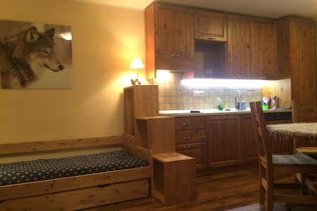 Cozy Studio 3 beds in Courmayeur, ski-in/ski-out