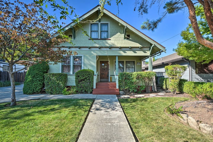 NEW! Unique + Historic 1920's Craftsman, Near Town