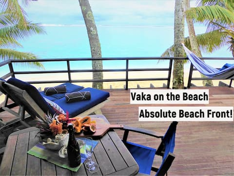 Vaka Villa On the Beach - right on the beach!