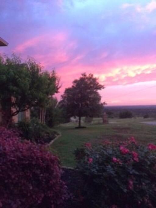 """A """"Thomas Kincade"""" Moment at Sunset"""