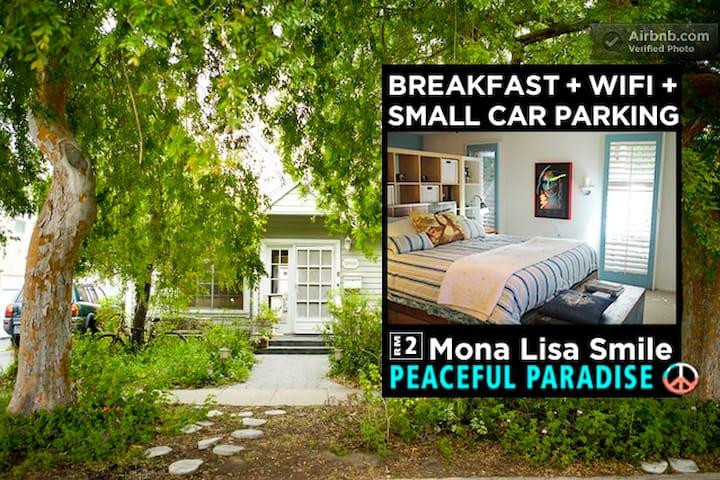WALK to BEACH-10mins! FREE-BREAKFAST+Prk+WiFi- RM2 - Los Angeles - Bed & Breakfast