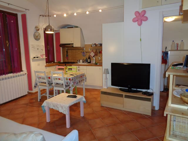apartment in the medieval Village of Isolabona